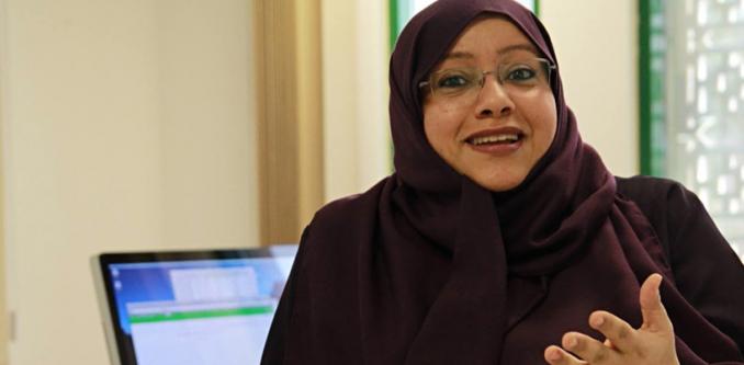 Dit is eerste vrouwelijke hoofdredacteur ooit in Saudi-Arabië